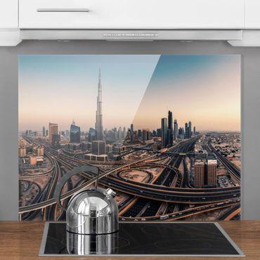 Paraschizzi in vetro - Serata A Dubai - Orizzontale 3:4