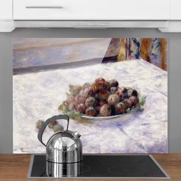 Paraschizzi in vetro - Auguste Renoir - Tray With Plums - Orizzontale 3:4