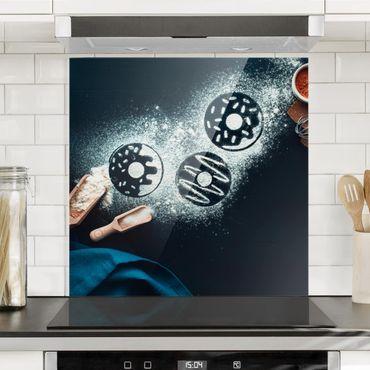Paraschizzi in vetro - Baking Recipe Donuts - Quadrato 1:1