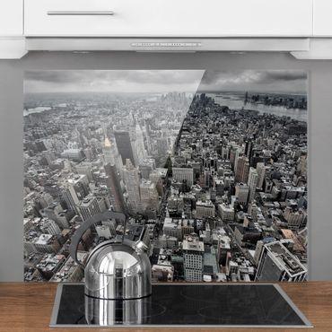 Paraschizzi in vetro - View Over Manhattan - Orizzontale 3:4