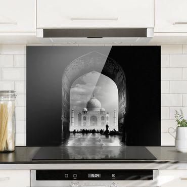 Paraschizzi in vetro - Il Gateway al Taj Mahal - Orizzontale 3:4
