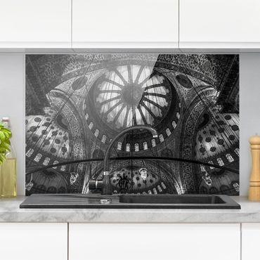 Paraschizzi in vetro - Le cupole della Moschea Blu - Orizzontale 2:3
