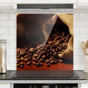 Paraschizzi in vetro - Dulcet Coffee - Quadrato 1:1