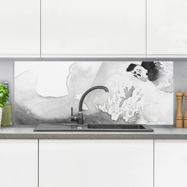 Paraschizzi in vetro - Polvere e acqua II - Panoramico