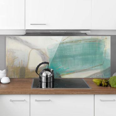 Paraschizzi in vetro - Zanne con turchese I - Panoramico