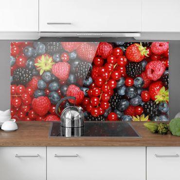 Paraschizzi in vetro - Fruity Berries - Orizzontale 1:2
