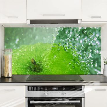 Paraschizzi in vetro - Green Apple - Orizzontale 1:2