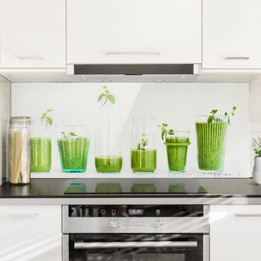 Paraschizzi in vetro - Green Smoothie Collection - Panoramico