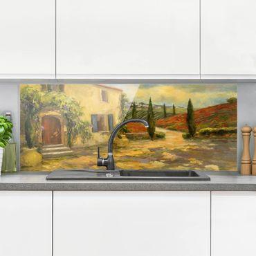 Paraschizzi in vetro - Campagna italiana - Toscana - Panoramico