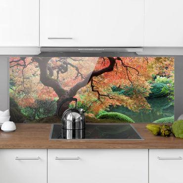 Paraschizzi in vetro - Japanese Garden - Panoramico