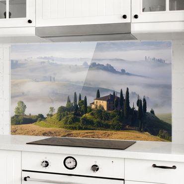Paraschizzi in vetro - Estate In Tuscany - Orizzontale 1:2