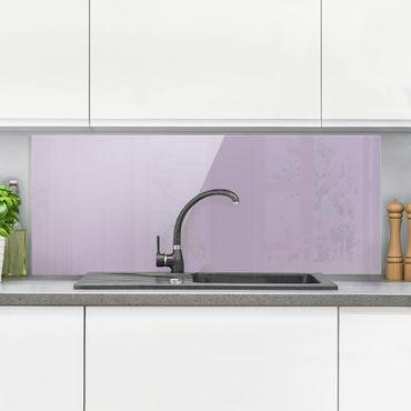 Paraschizzi in vetro - Lavender - Panoramico