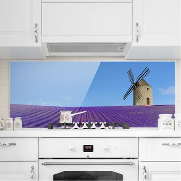Paraschizzi in vetro - Lavender Fragrance In Provence - Panoramico