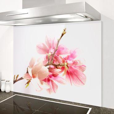 Paraschizzi in vetro - Magnolia Blossoms - Orizzontale 3:4