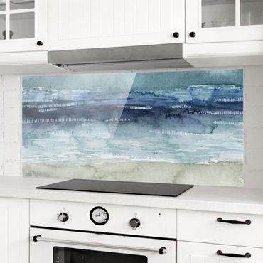 Paraschizzi in vetro - Nebbia sul mare I - Panoramico