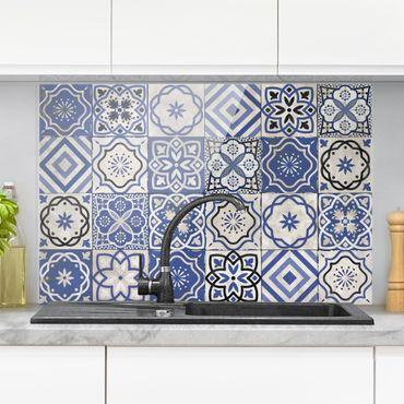 Paraschizzi in vetro - Mediterranean Tile Pattern - Orizzontale 2:3