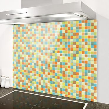Paraschizzi in vetro - Mosaic Tiles Sommerset - Orizzontale 2:3