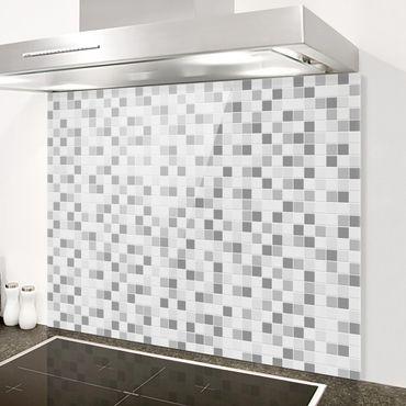 Paraschizzi in vetro - Mosaic Tiles Winterset - Orizzontale 2:3