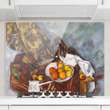 Paraschizzi in vetro - Paul Cézanne - Still Life Fruit - Orizzontale 3:4