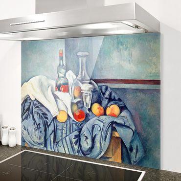 Paraschizzi in vetro - Paul Cézanne - Still Life Peaches - Orizzontale 3:4