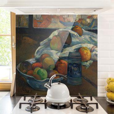 Paraschizzi in vetro - Paul Gauguin - Fruit Bowl - Quadrato 1:1