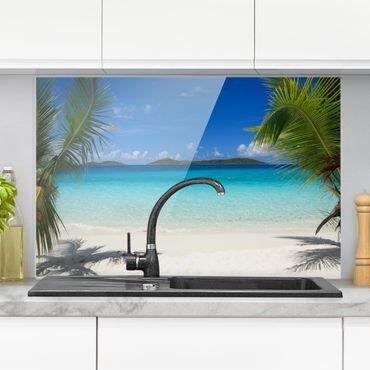 Paraschizzi in vetro - Perfect Maledives - Orizzontale 2:3