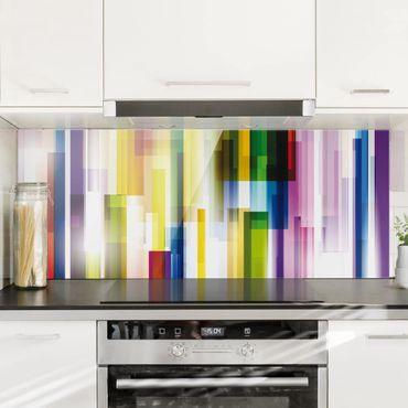 Paraschizzi in vetro - Rainbow Cubes - Panoramico