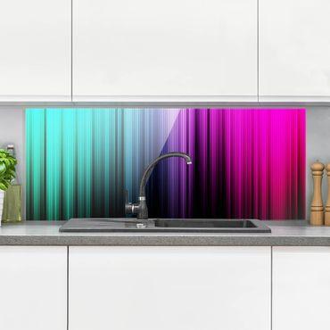 Paraschizzi in vetro - Rainbow Display - Panoramico