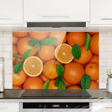 Paraschizzi in vetro - Juicy Oranges - Orizzontale 2:3
