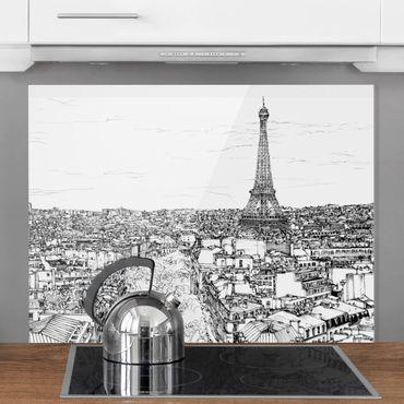 Paraschizzi in vetro - Studi di città - Parigi - Orizzontale 3:4