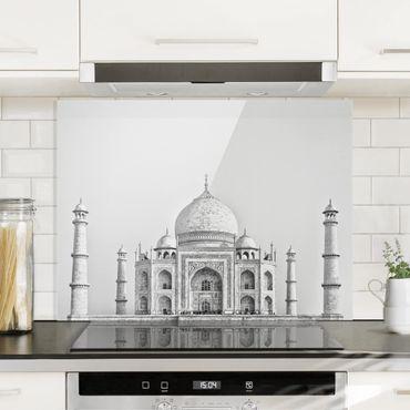 Paraschizzi in vetro - Taj Mahal in grigio - Orizzontale 3:4