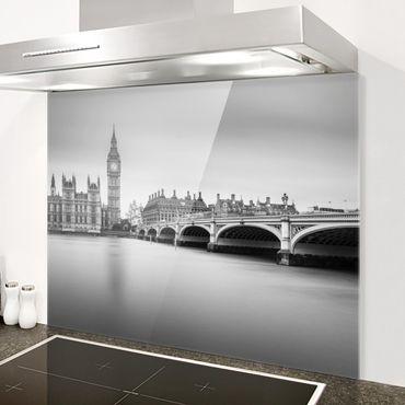 Paraschizzi in vetro - Ponte di Westminster e il Big Ben - Orizzontale 3:4