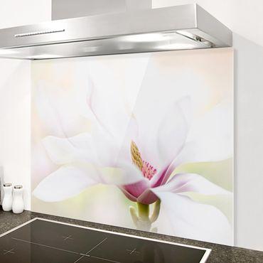 Paraschizzi in vetro - Delicate Magnolia Blossom - Orizzontale 1:2