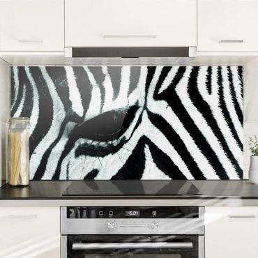 Paraschizzi in vetro - Zebra Crossing No.4 - Orizzontale 1:2