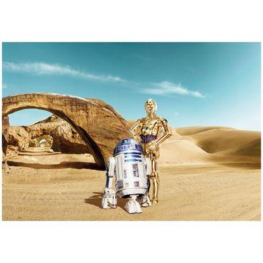 Carta da parati - Star Wars droidi dispersi