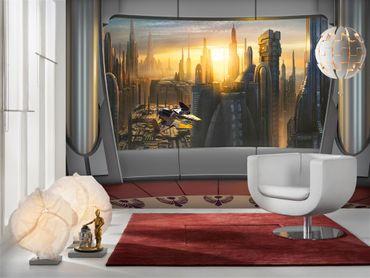 Carta da parati - Star Wars vista di Coruscant