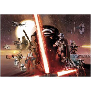 Carta da parati - Star Wars EP7 collage