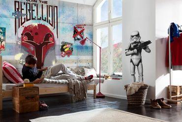 Carta da parati - Star Wars il muro dei ribelli