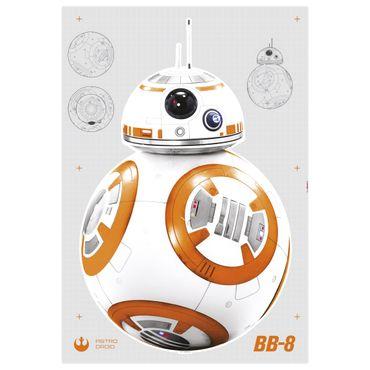 Adesivo murale per bambini - Star Wars BB-8