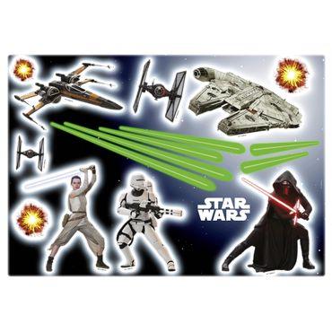 Adesivo murale per bambini - Star Wars