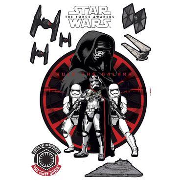 Adesivo murale per bambini - Star Wars Primo Ordine