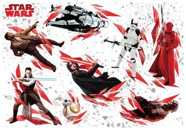Adesivo murale per bambini - Star Wars - Gli ultimi Jedi