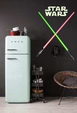 Adesivo murale per bambini - Star Wars spada laser