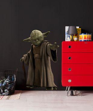 Adesivo murale per bambini - Star Wars Yoda