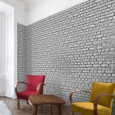 Carta da parati - Brick Wallpaper - Grey Brick Wallpaper UK