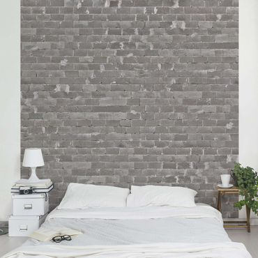 Carta da parati - Concrete Wallpaper - Concrete Bricks Wall