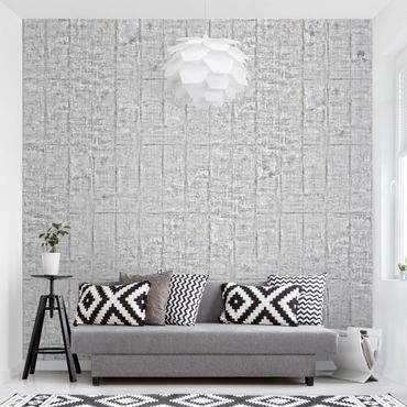 Carta da parati - Concrete Wallpaper - Heavily textured Concrete Slab Wall