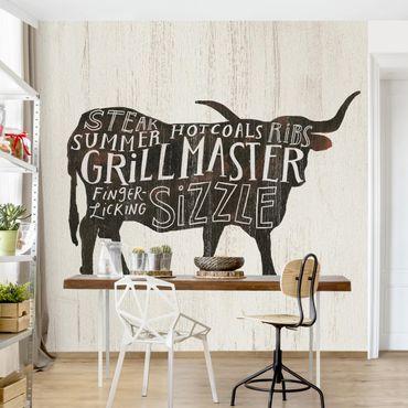 Carta da parati - Farm BBQ - Manzo