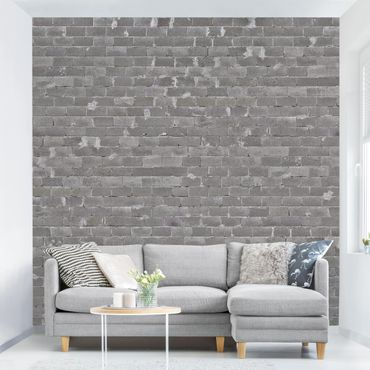 Carta da parati - Concrete Wallpaper - Concrete Bricks Wall