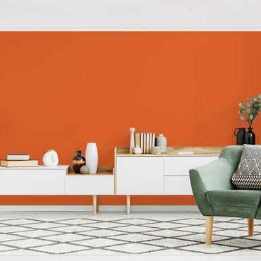 Carta da parati - Colour Orange - Tinta unita